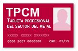 PACKS FORMATIVOS Tarjeta Profesional del Sector Metal