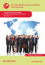 Pol�ticas de marketing internacional. COMM0110 - Marketing y compraventa internacional