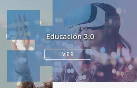 Portada contenidos e learning de Educación 3.0