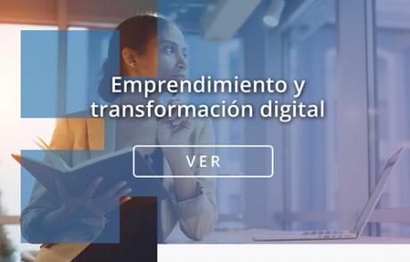 Portada contenidos e learning Emprendimiento y transformación digital
