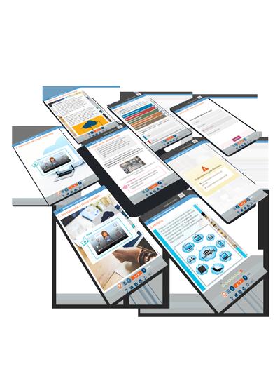 Imagen Catálogo de contenidos e-learning