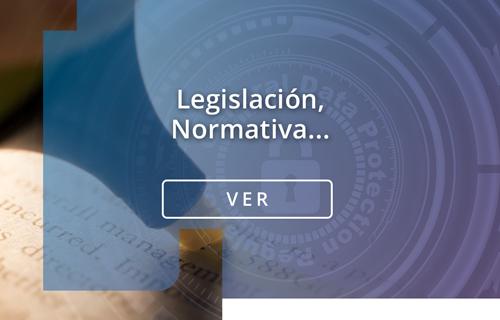 legislacion normativa catálogo de contenidos