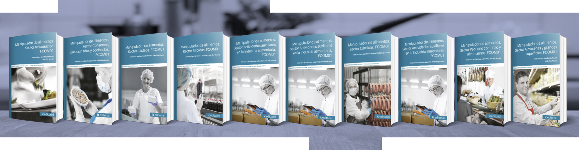 El catálogo de Innovación y Cualificación reúne todo el contenido eLearning en materia de manipulación de alimentos